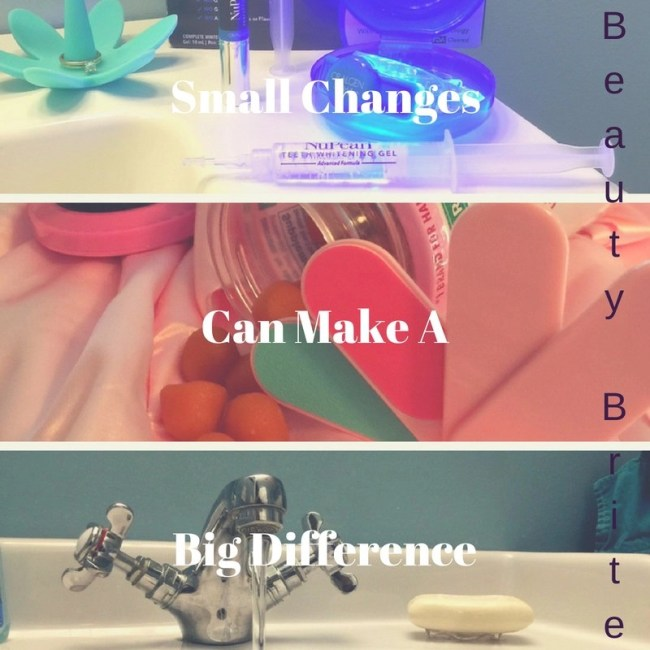 Small Changes Yield Big Results--Oralgen NuPearl Advanced Teeth Whitening System-SoapStandle-Natures Bounty Hair Skin and Nails with Biotin and Collagen Gummies