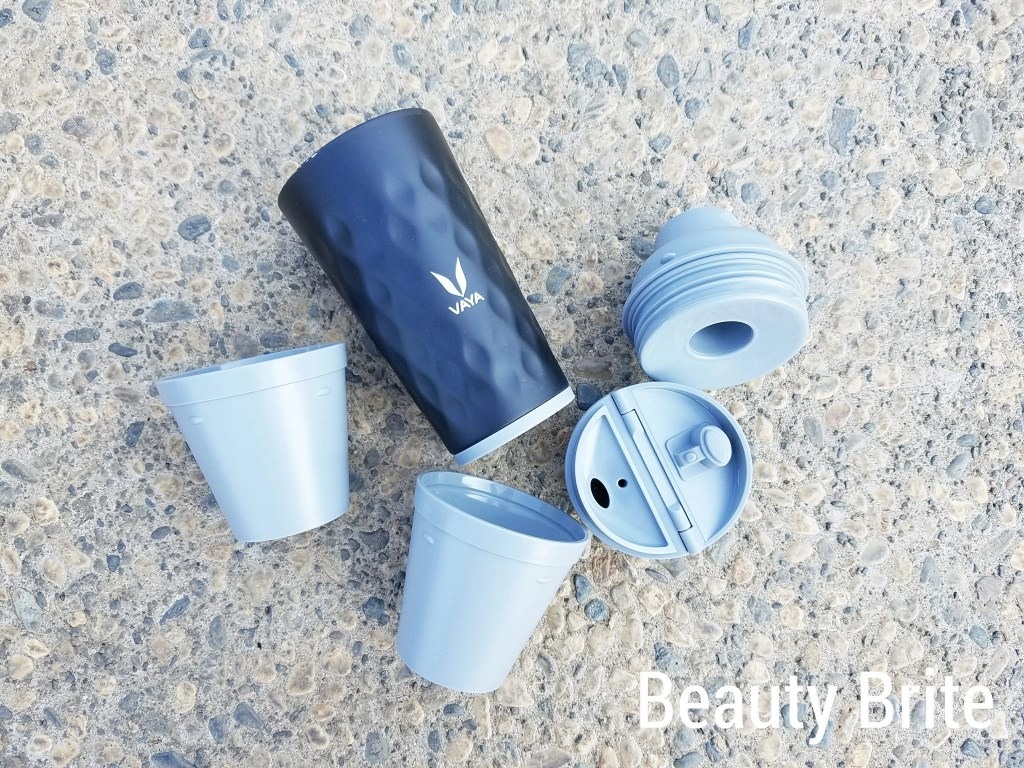 Vaya Drynk 3-in-1 Water Bottle (Sipper+Gulper)