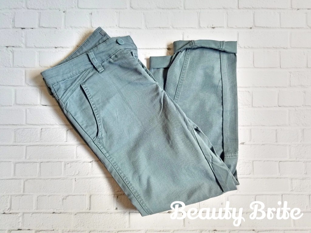 Janessa Pants in Weathered Blue