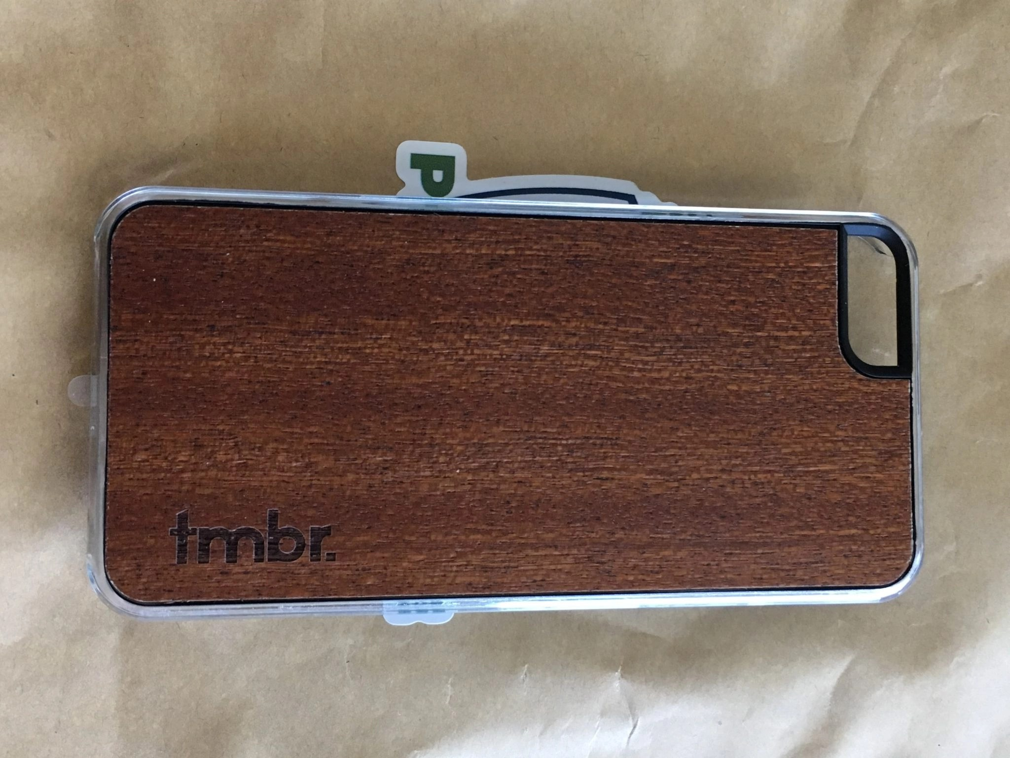 Tmbr. Wood Phone Case