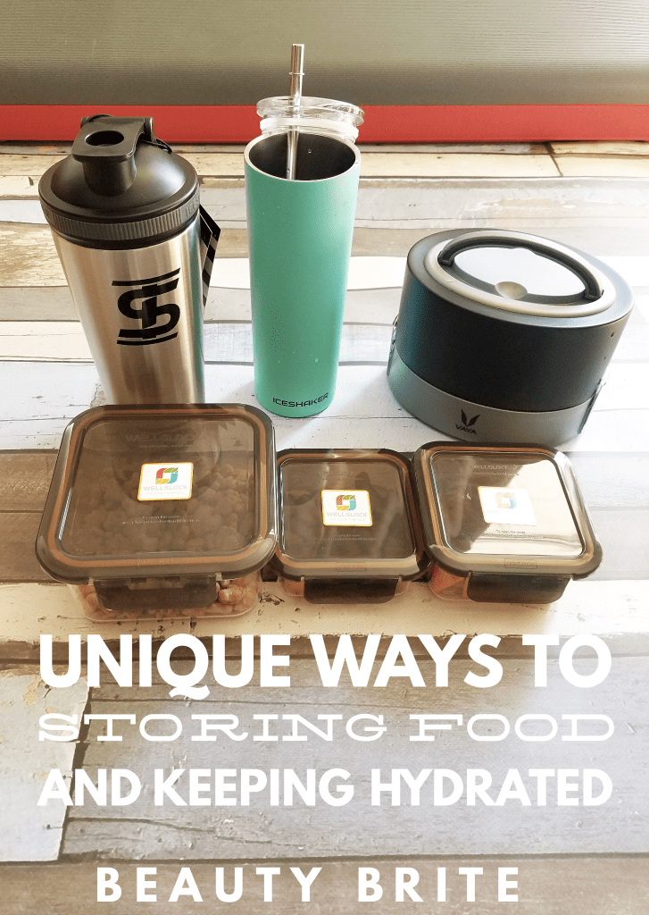 Unique Ways to Storing Food and Keeping Hydrated