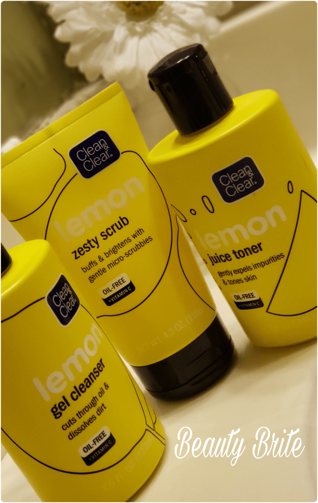 Clean and Clear Lemon Skincare Line