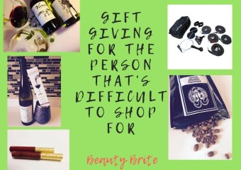 Gift Giving For The Person That's Difficult To Shop For