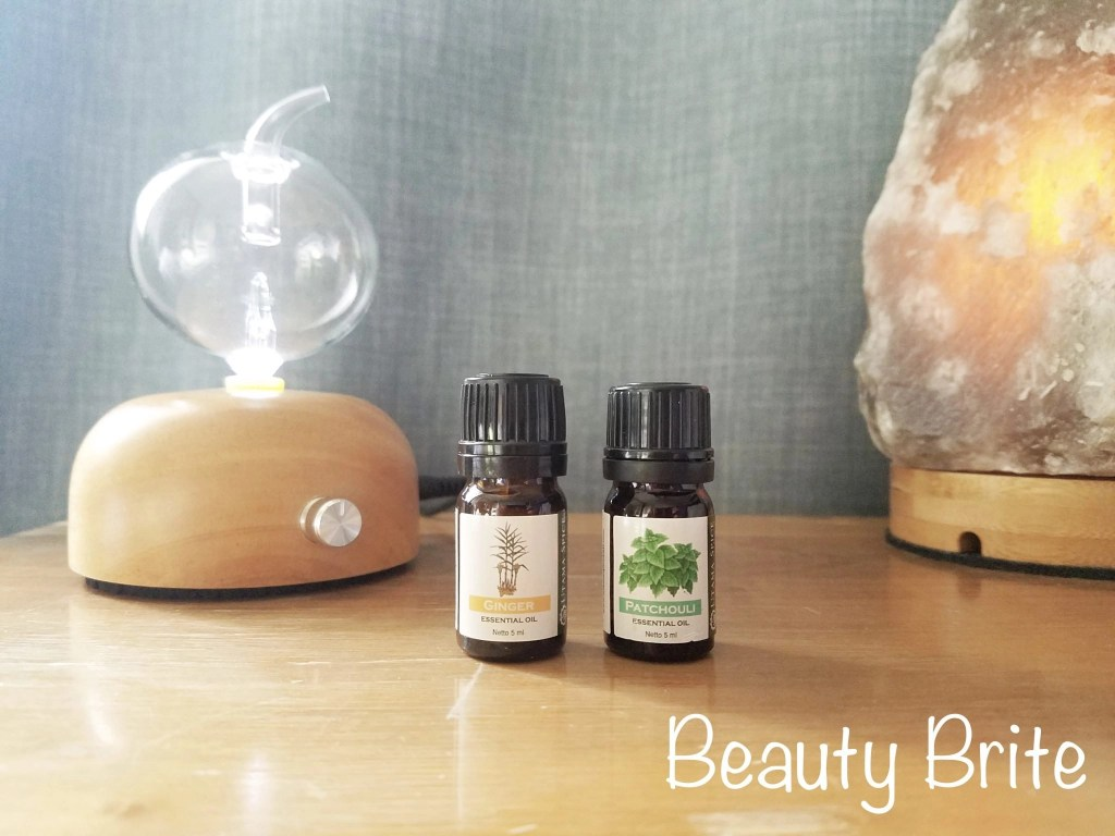 Nature's Aid Essential Oil Set including Ginger EO and Patchouli Energy EO