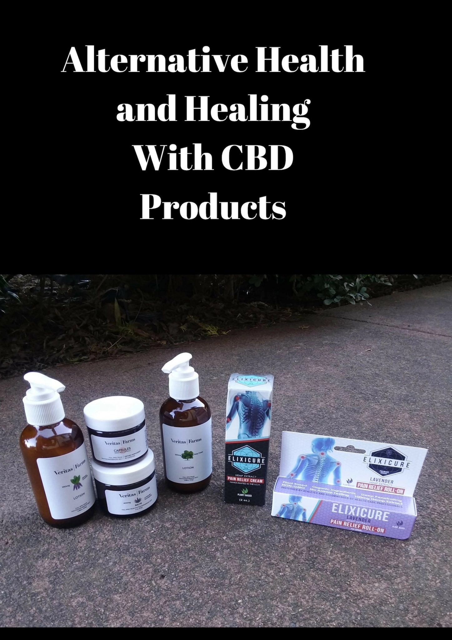 Alternative Health and Healing With CBD Products