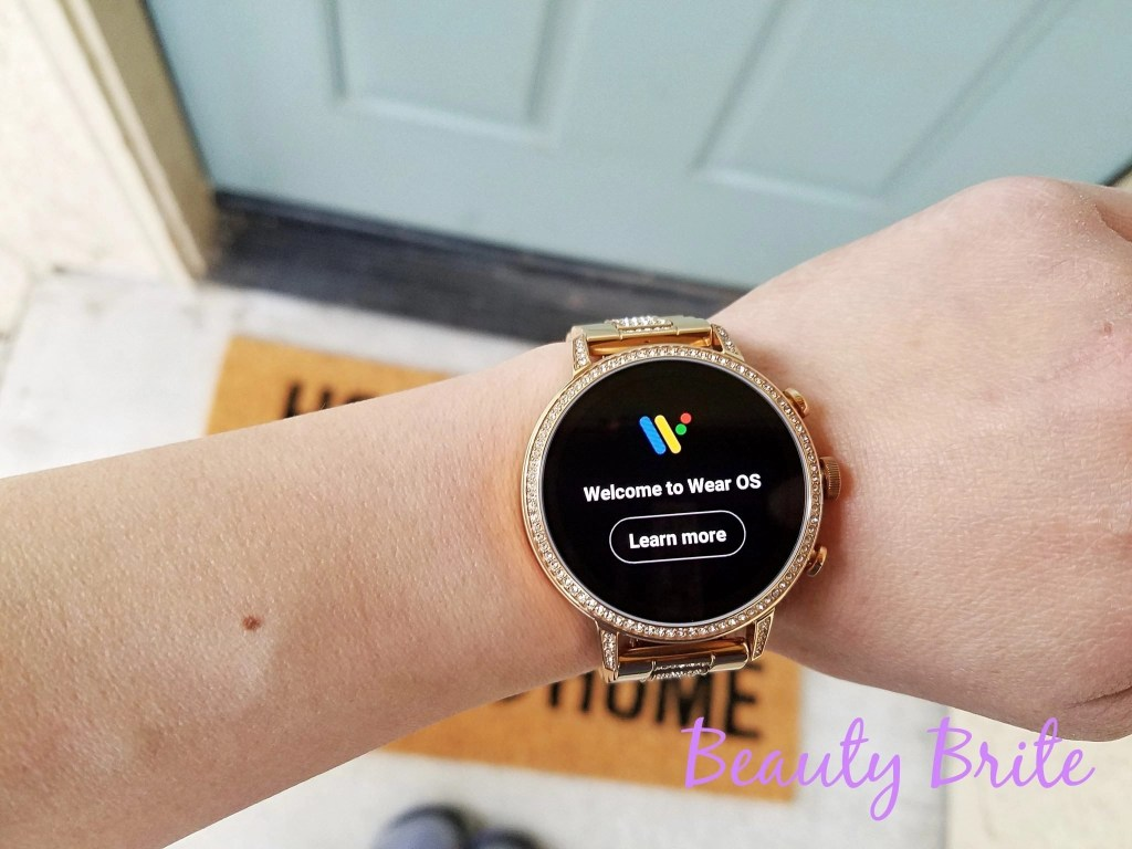Fossil Gen 4 Venture HR Smartwatch uses Wear OS by Google