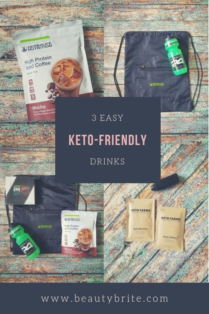 3 Easy Keto-Friendly Drinks