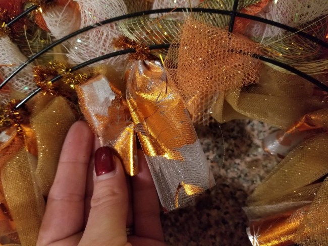 Wreath Making - Attach Your Tulle