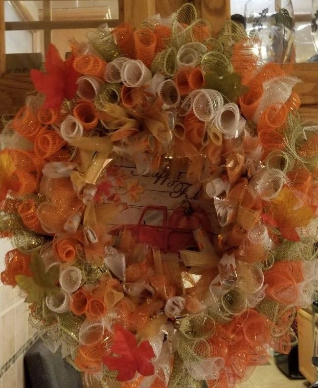 Wreath Making - Harvest Wreath
