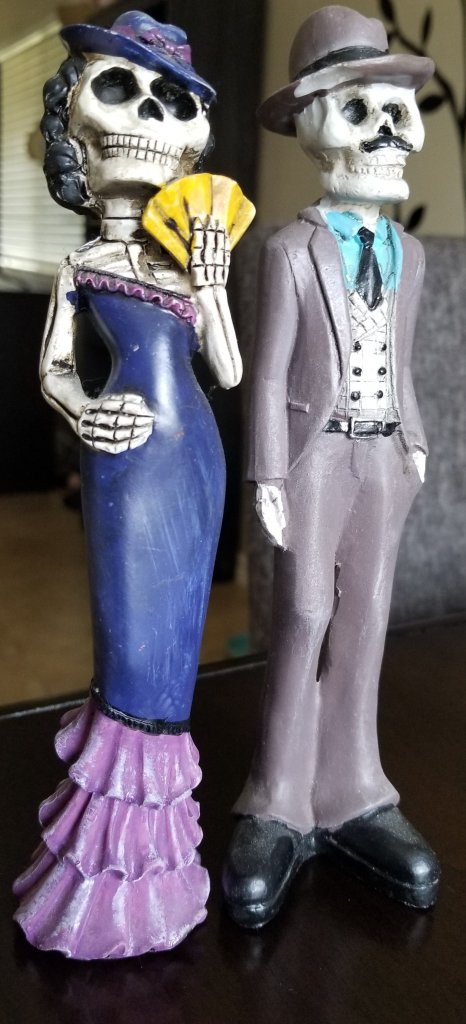 Hand Painted Mexican Folk Art Figurines, La Bufadora