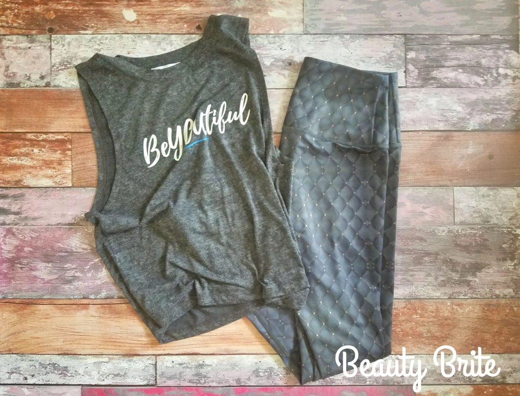 Mystique Leggings and Be You Tank