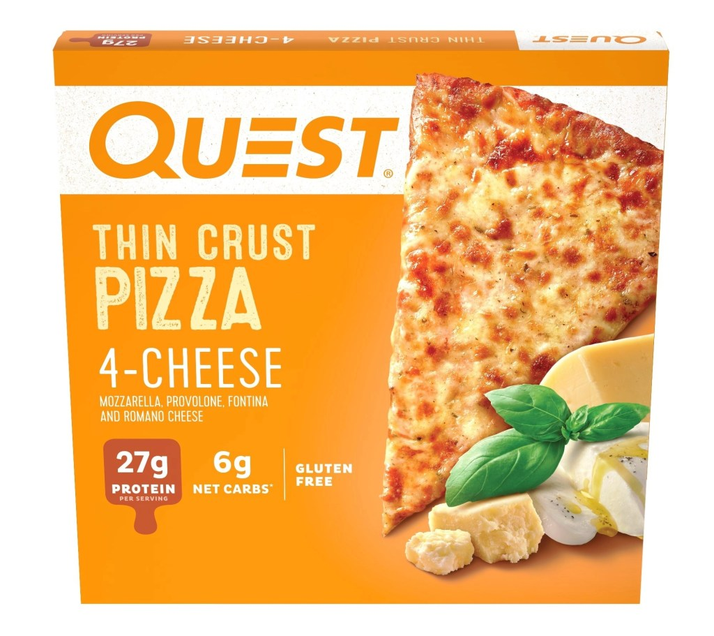 Quest Nutrition Four Cheese Pizza