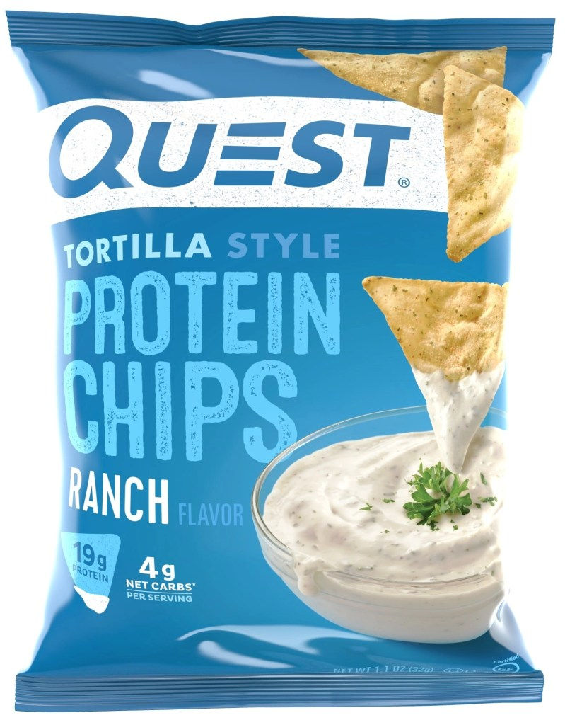 Quest Nutrition Tortilla Style Protein Ranch Chips