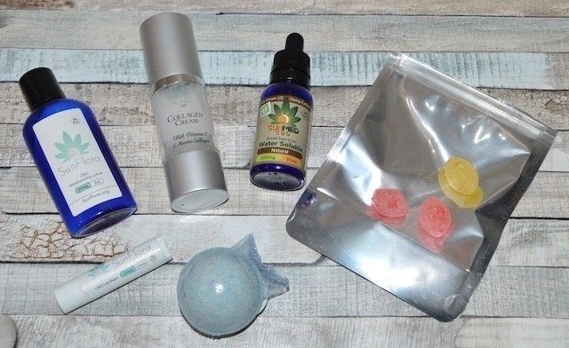 Beauty and Wellness CBD Store Products
