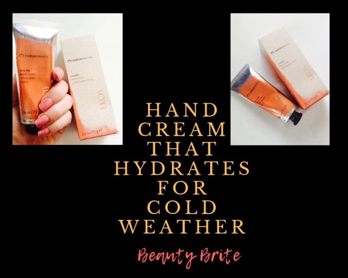 Hand Cream That Hydrates For Cold Weather