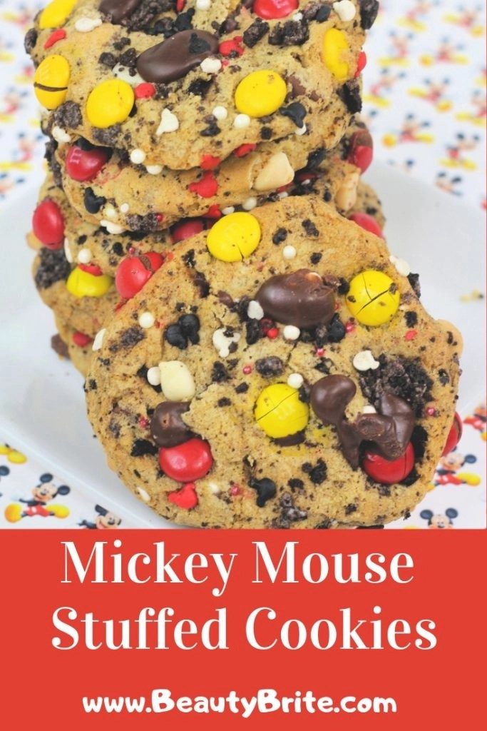 Mickey Mouse Stuffed Cookies