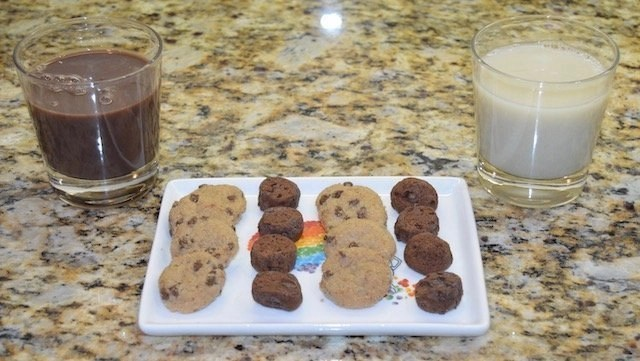 Allergy Free Enjoy Life Cookies & Planet Oat Milk