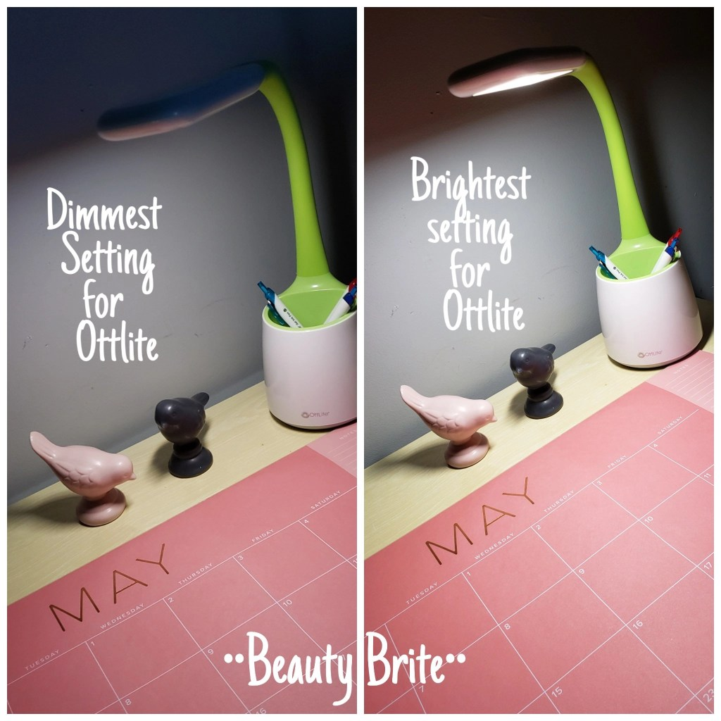 Ottlite Wellness Series Desk Lamp Brightness