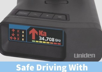 Safe Driving With The New Uniden R7 Radar Detector
