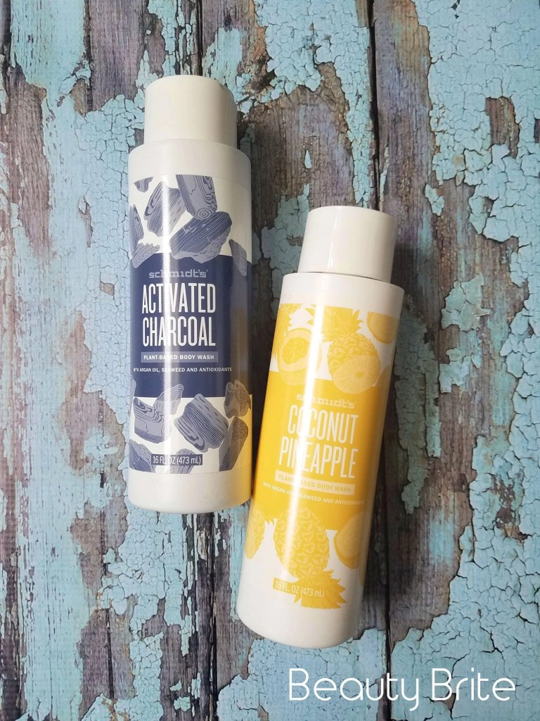 Schmidt's Charcoal and Coconut Pineapple Body Wash