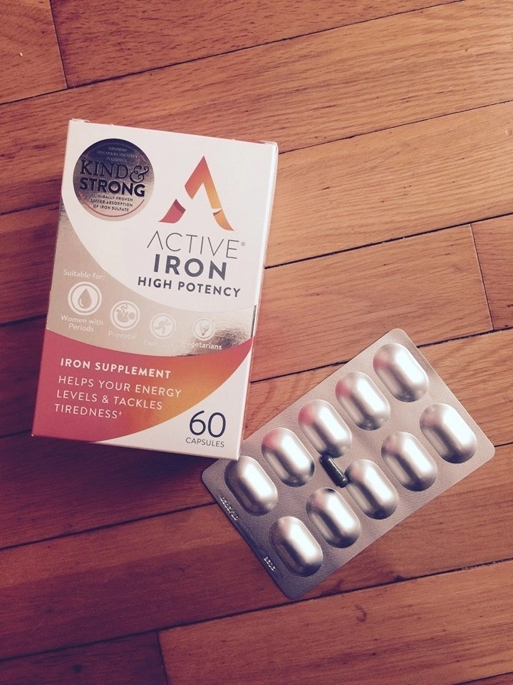 Active Iron High Potency Low Carb
