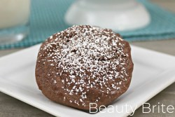Chewy Sea Salt and Caramel Nutella Cookies recipe