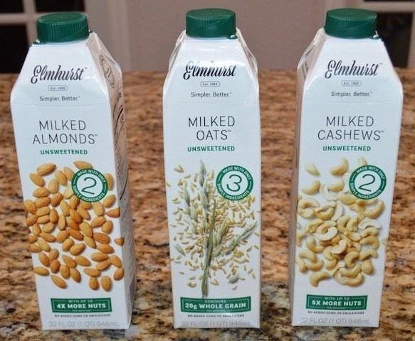 Morning Routine_Elmhurst Plant Based Milks