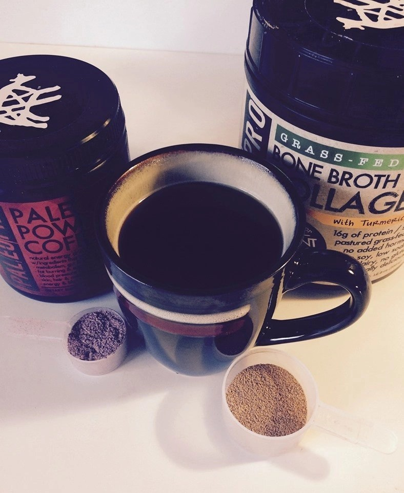 PaleoPro Paleo Power Coffee and PaleoPro Bone Broth Collagen Low Carb