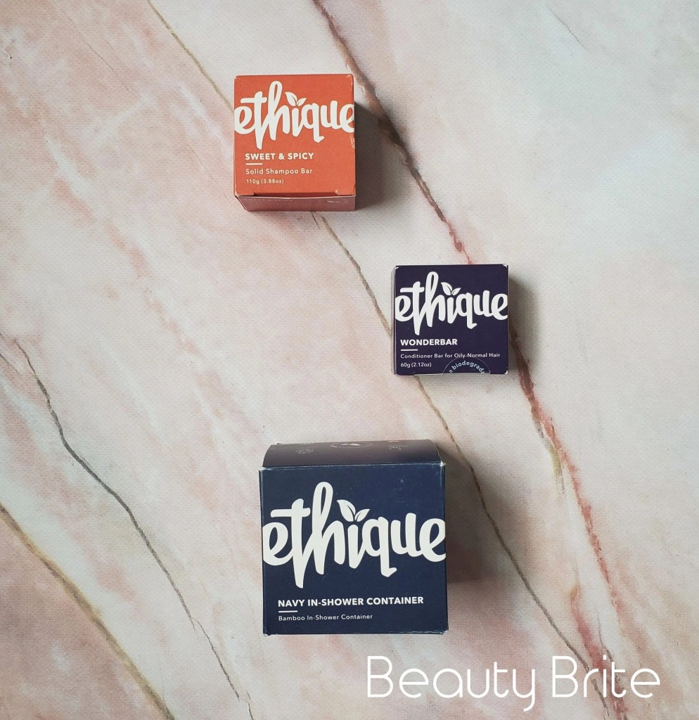 ethique beauty bars and storage container