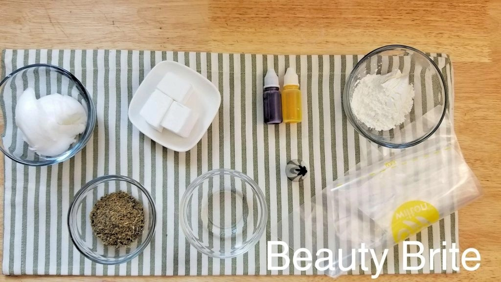Dried Calendula & Lavender Whipped Soap Supplies