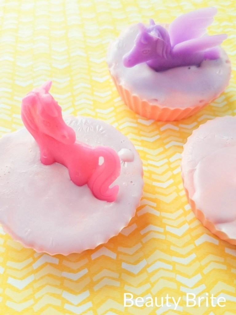 Unicorn Soap as gifts