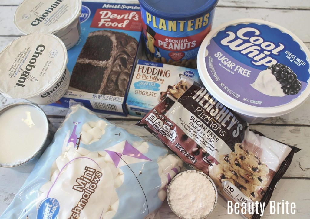 Weight Watchers Rocky Road Cupcakes ingredients