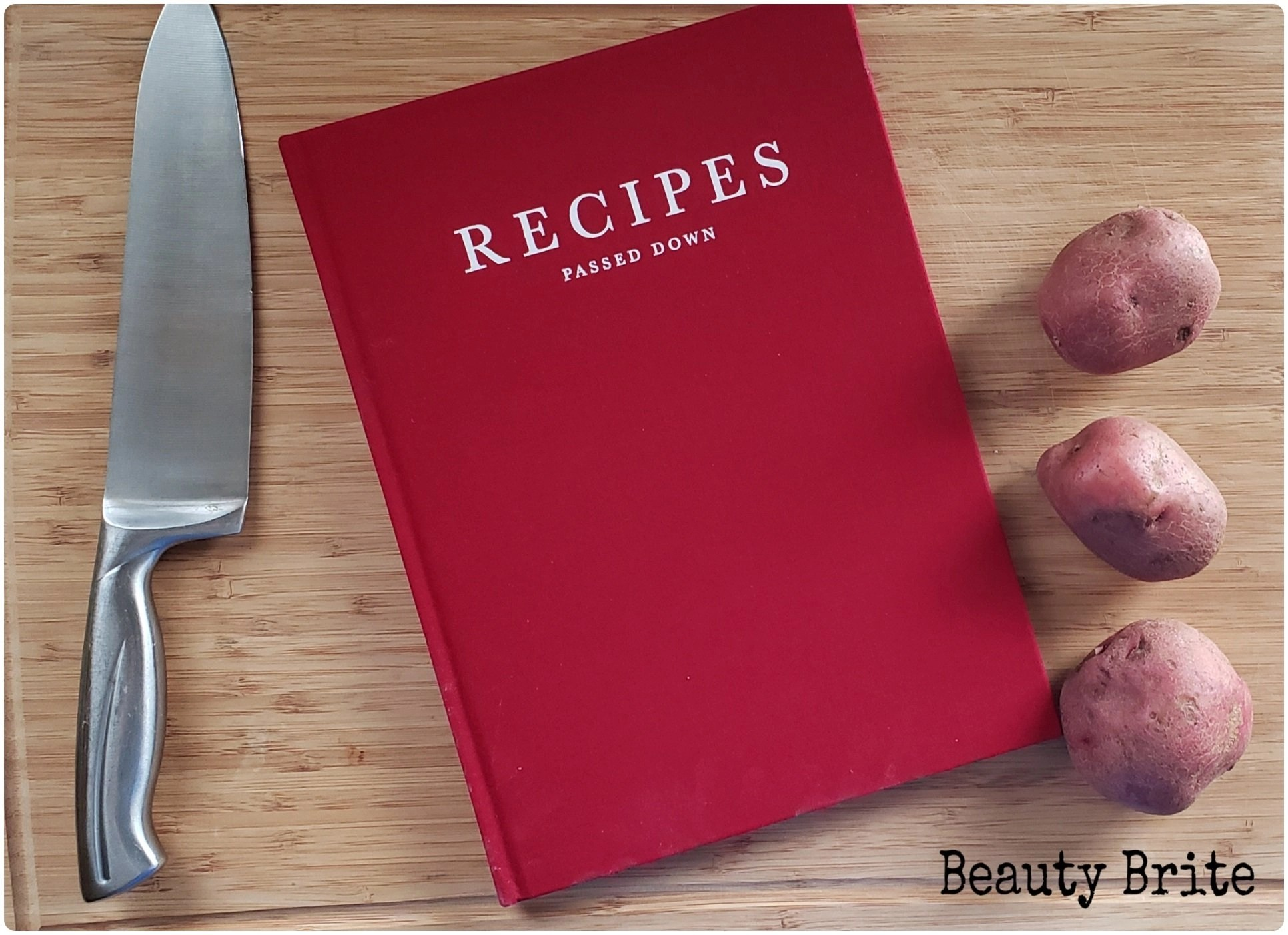 Write To ME Recipes Passed Down Wine Cover