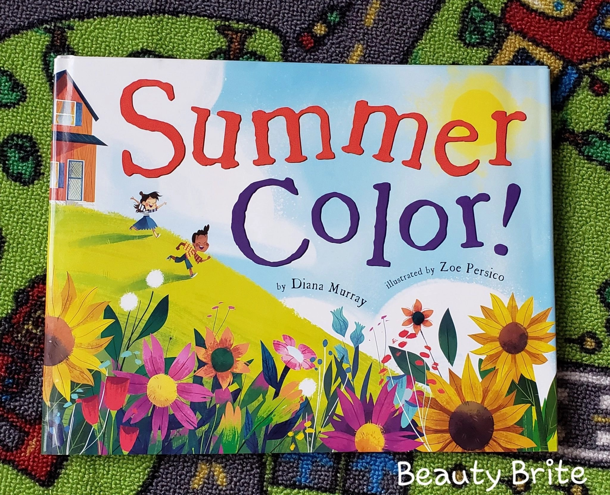 Jambo Book Club Summer Color