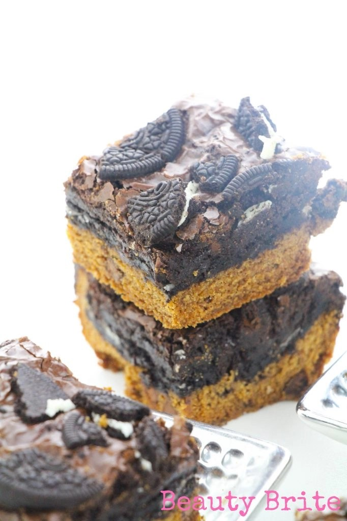BFF Brownies Stacked