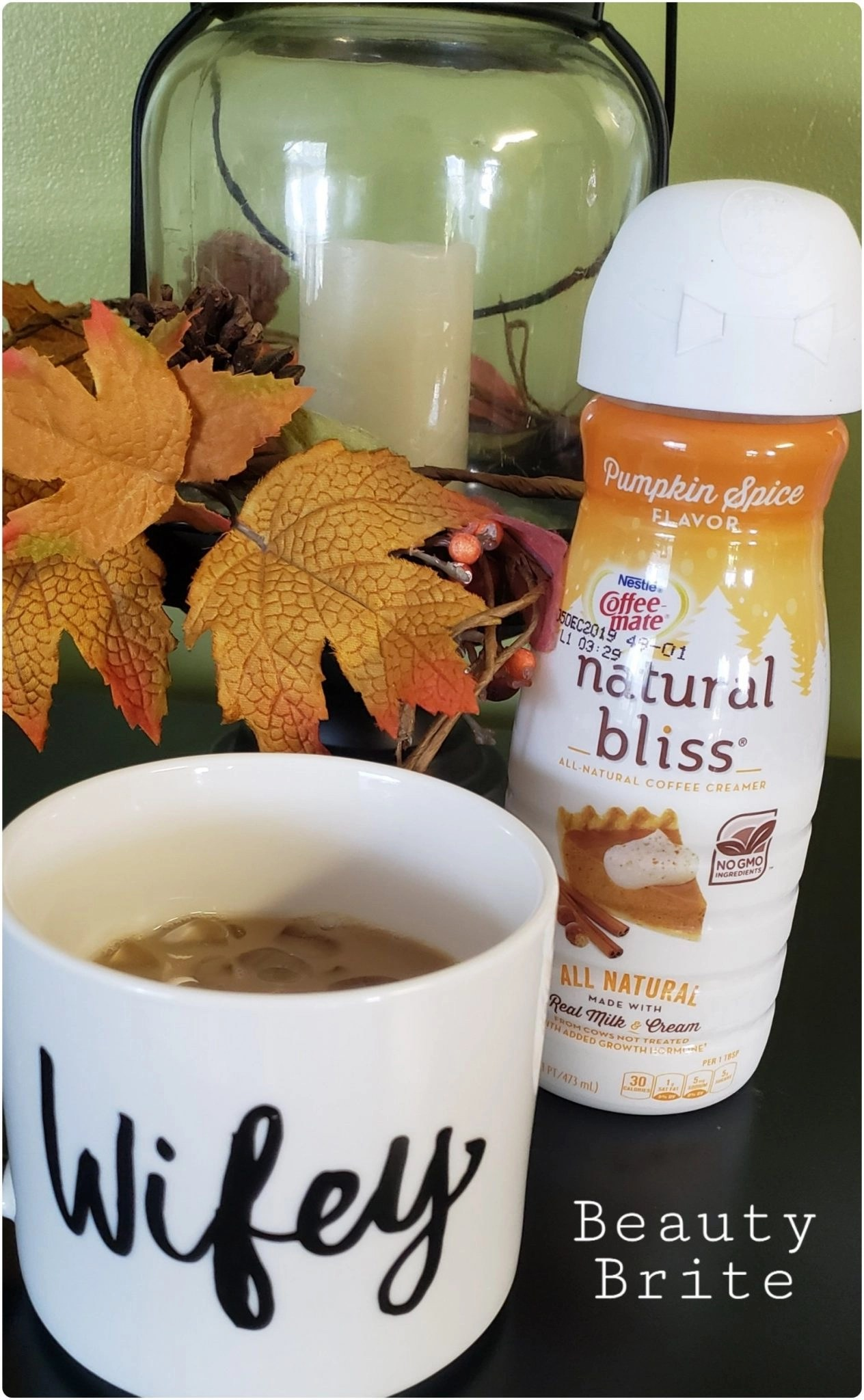 Coffee Mate Natural BLiss Pumpkin Spice