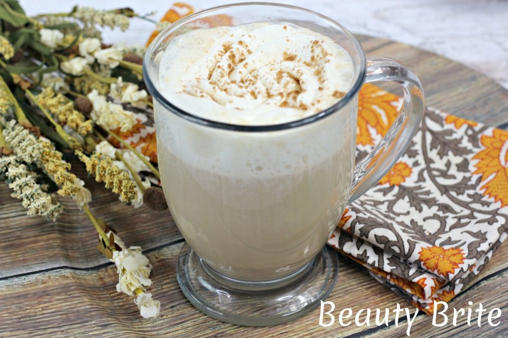 Vanilla Chai Tea Latte Served