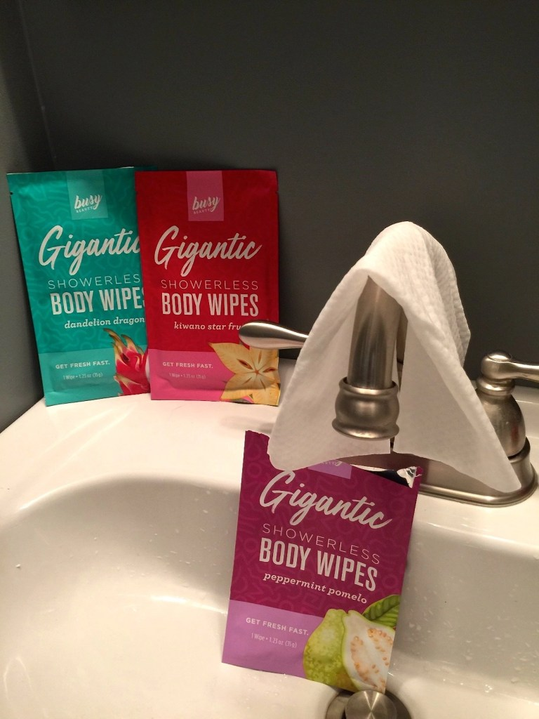 Busy Beauty Gigantic Showerless Body Wipes
