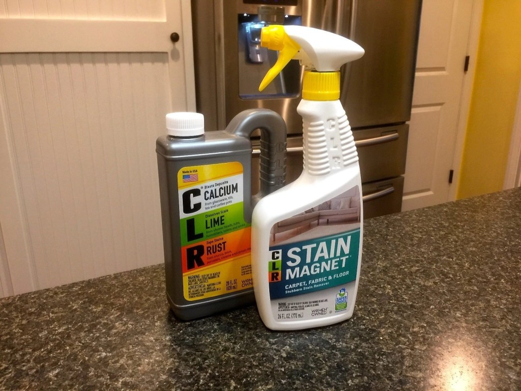 Eco-Friendly Cleaning From A Trusted Brand- CLR Stain Magnet & CLR Calcium Lime and Rust cleaner