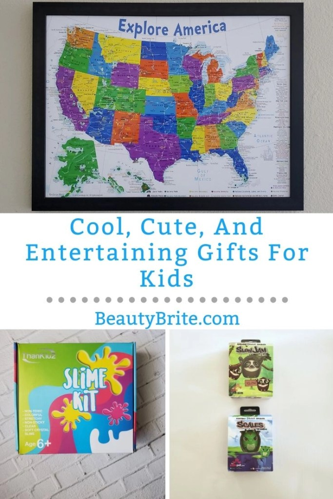 Cool, Cute, And Entertaining Gifts For Kids
