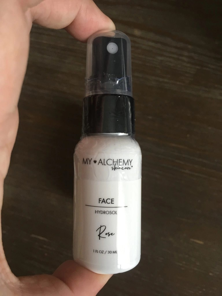 My ALCHEMY Skin Care Travel Mini Face Hydrosol