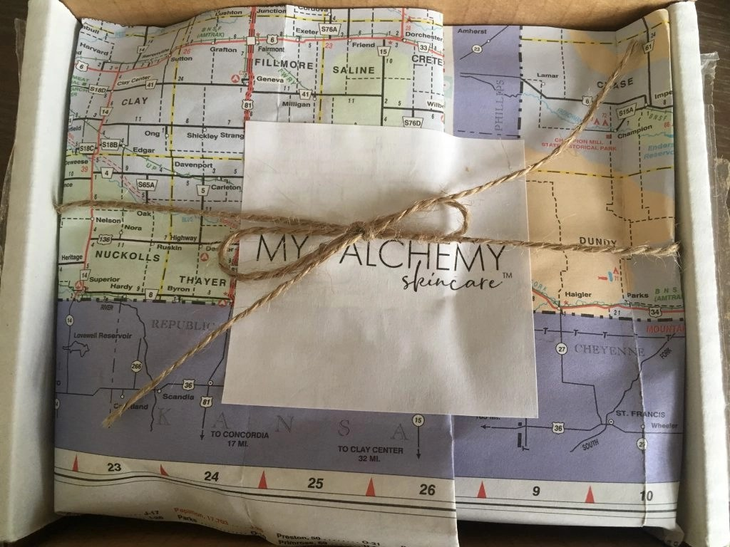 My ALCHEMY Skin Care Travel Mini still in packaging