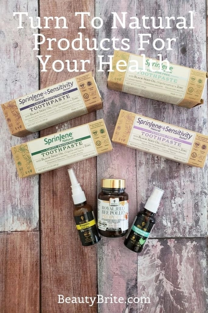 Turn To Natural Products For Your Health