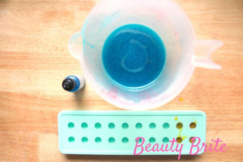 Bubblegum Balls Soap Step 1
