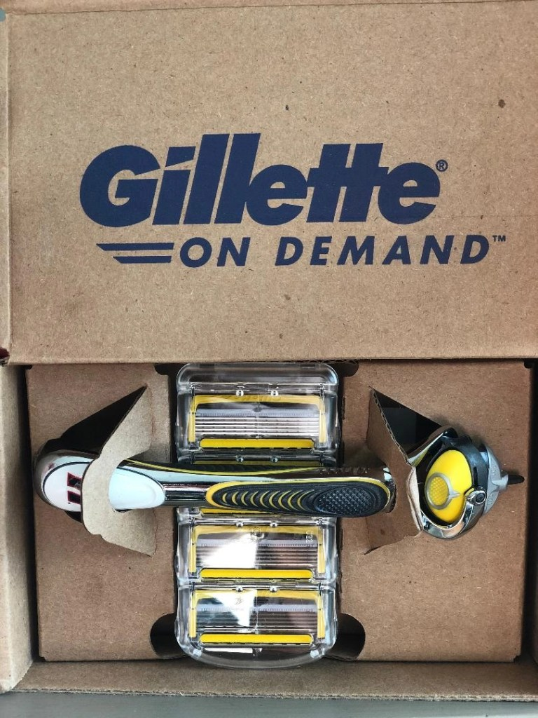 Happy Holidays With Gillette Razors -- Gillette Fusion5 ProShield razor