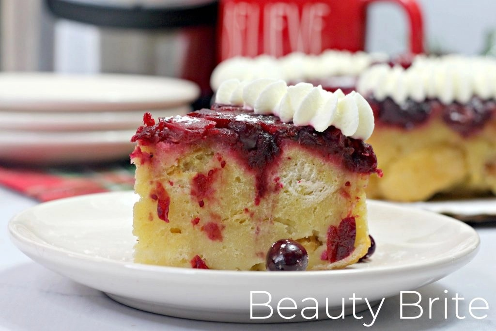 Instant Pot Cranberry French Toast - social media