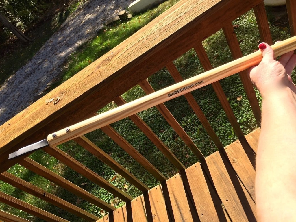 A Deck Maintenance Tool You Didn't Even Know You Needed -- The DeckTool