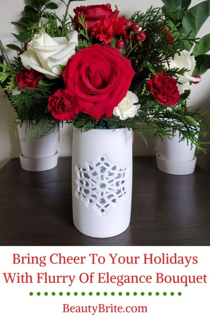 Bring Cheer To Your Holidays With Flurry Of Elegance Bouquet