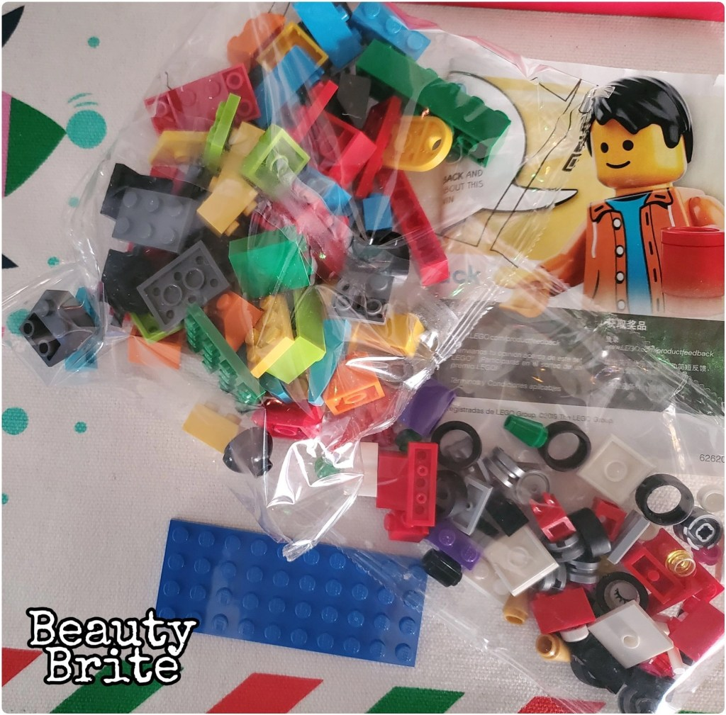 Legos Bricks and Ideas Packaging