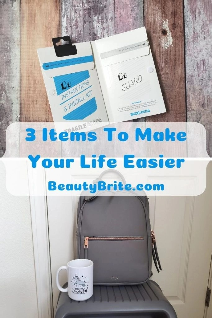 3 Items To Make Your Life Easier
